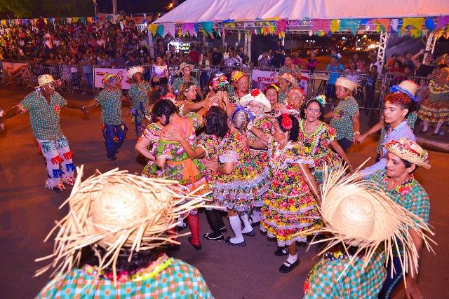 Cidade Junina movimenta Santana