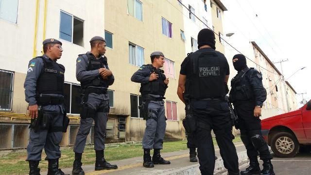 Operação tenta frear crimes no Conjunto São José