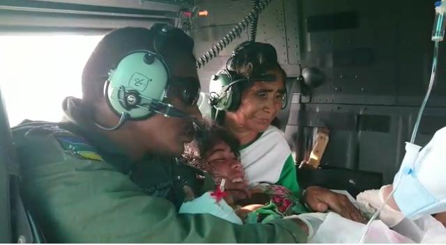 VÍDEO: Equipe do GTA faz parto em pleno voo
