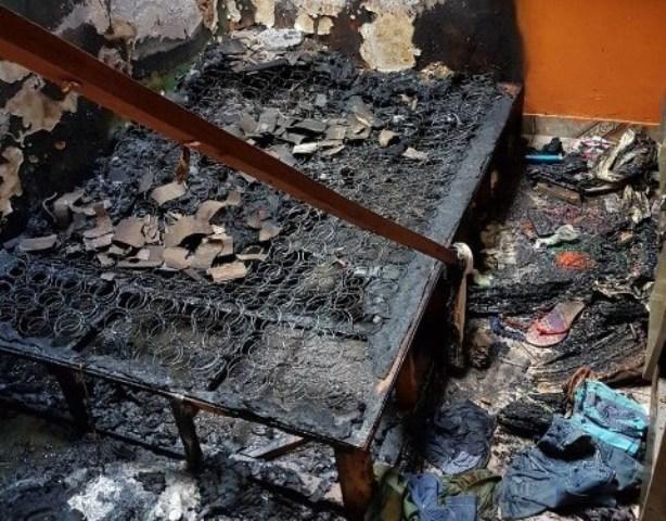 Criança que sobreviveu a incêndio em Santana tem alta