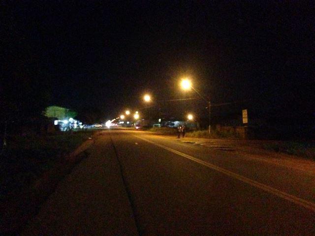 Em Oiapoque, rede de iluminação pública começa a ser restaurada