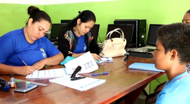 Estudantes iniciam cadastramento do passe livre em Santana