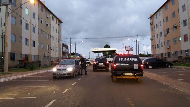 Polícia intercepta traficante a caminho do São José