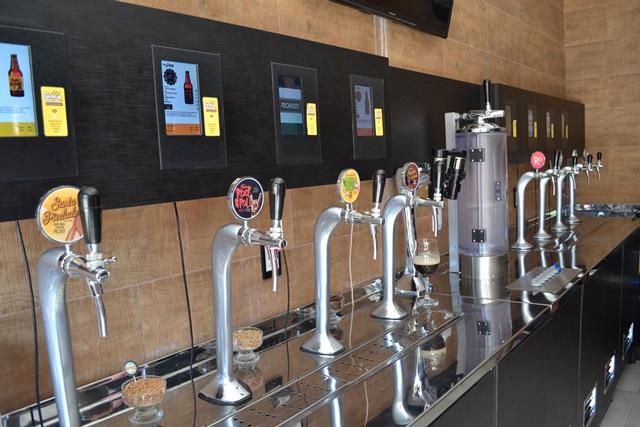Hoje tem estação da cerveja artesanal