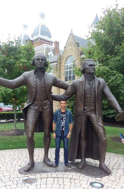 Amapaense de Porto Grande ganha bolsa em faculdade dos Estados Unidos
