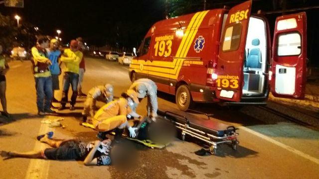 Na madrugada, homens são baleados em frente ao Terminal Rodoviário