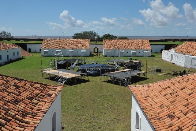 Final de hip-hop respeita termos de conservação da Fortaleza, afirma GEA