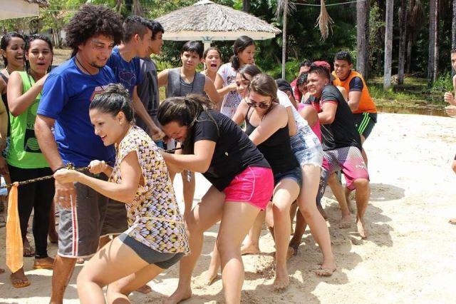 Acampamento promove diversão e experiência cristã