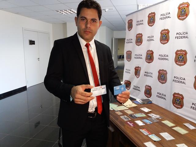 Delegado diz que golpista da Previdência usava nomes falsos