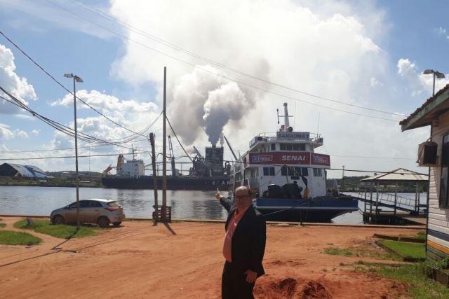 Vitória do Jari pode ter chuva ácida, diz MP