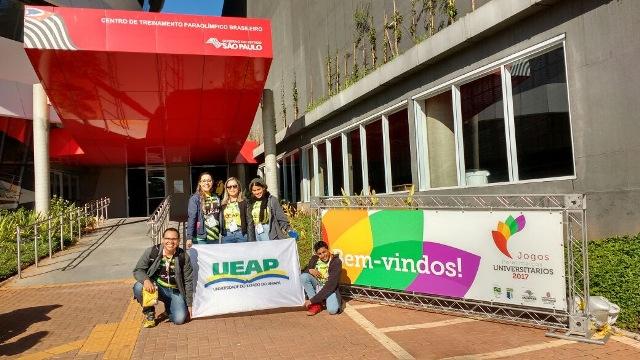 Delegação do AP estreia nos Jogos Paralímpicos Universitários