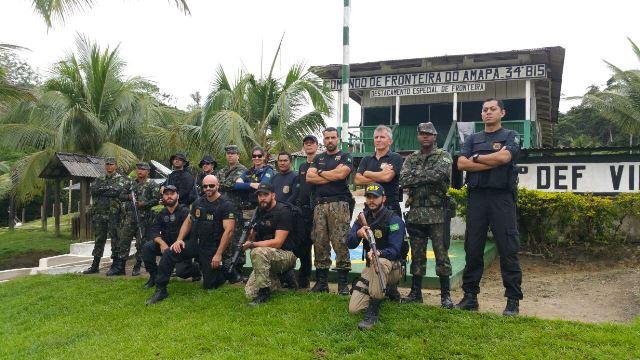 Em operação inédita, policiais franceses atuam em território brasileiro