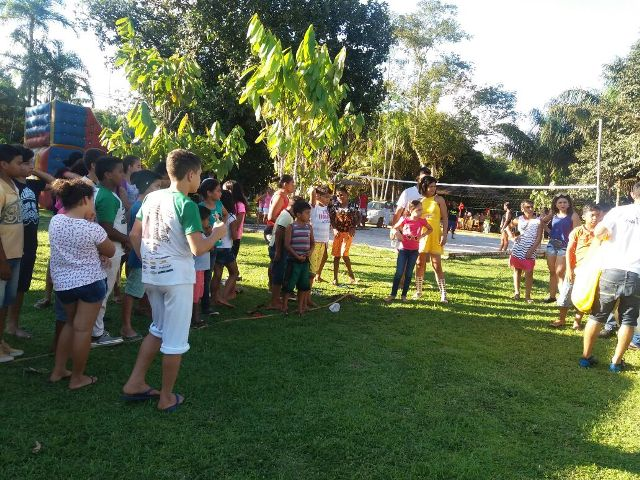 Iniciativa proporciona lazer para crianças em Oiapoque