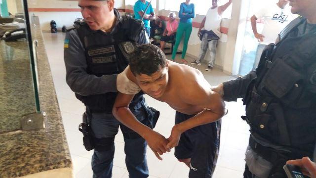 Após resistir, acusado de matar tabelião é baleado e preso