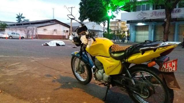 Racha termina com morte de mototaxista