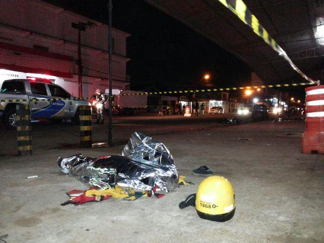 Mototaxista morre em colisão