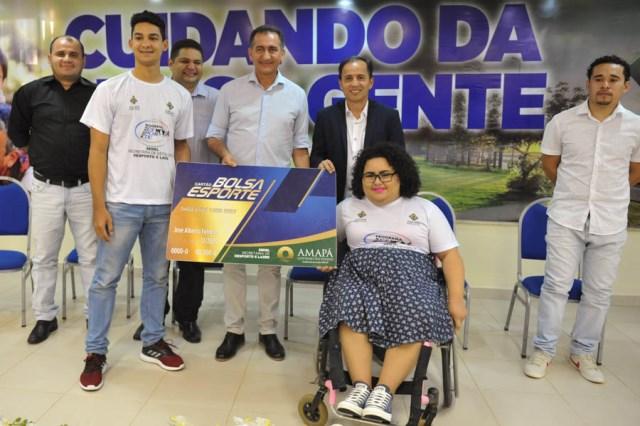 No Amapá, atletas começam a receber o Bolsa Esporte