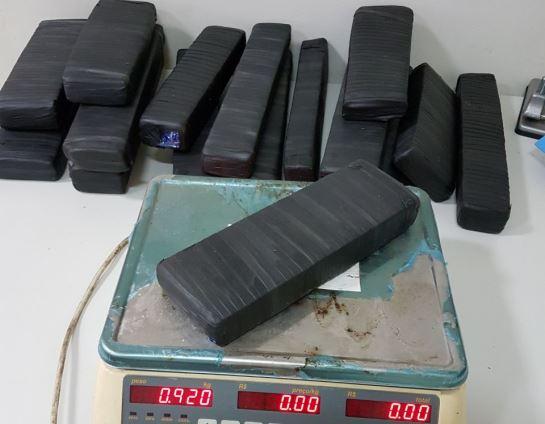 """Adolescente desembarca em Macapá com 16 kg de """"skank"""""""