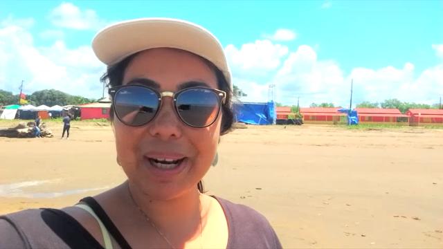 Ex-repórter de TV reaparece e mostra a Praia do Goiabal