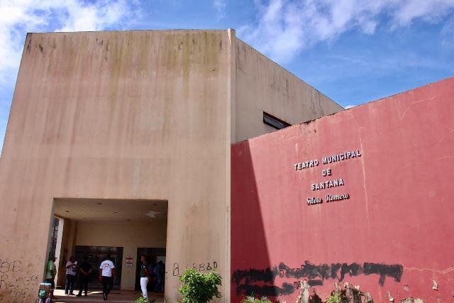 Teatro de Santana receberá R$ 6 milhões do MEC para conclusão da obra