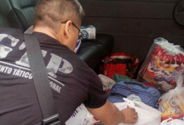 Com grupo no Whatsapp, agentes penitenciários ajudam vítimas de incêndio