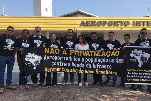 Aeroportuários dizem que privatização poderá afetar aeroporto de Macapá