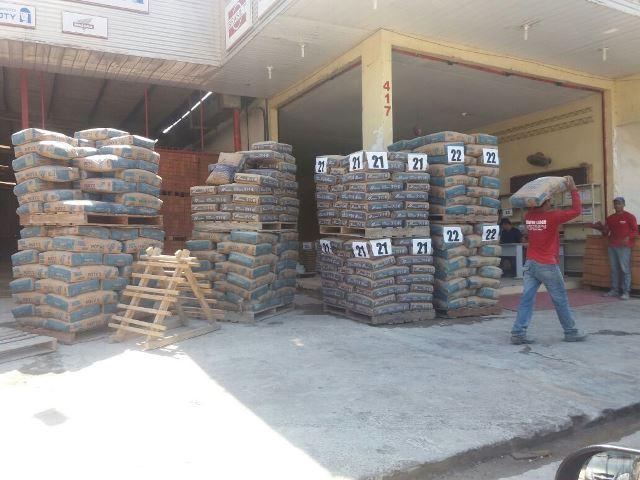 Preço do cimento despenca no Amapá