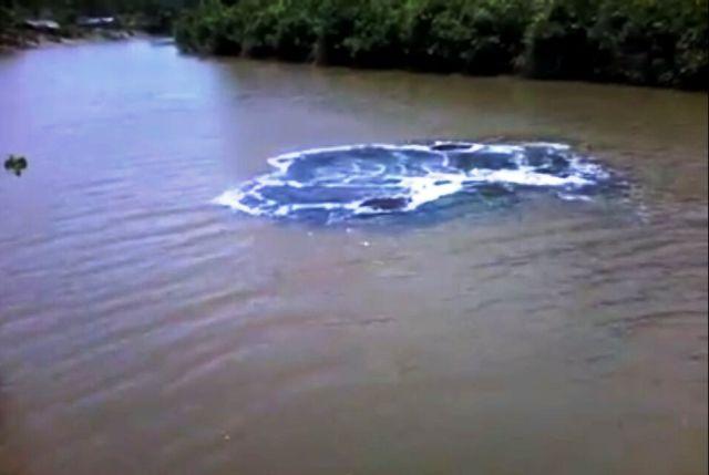 VÍDEO sobre estranho movimento em rio no AP divide opiniões