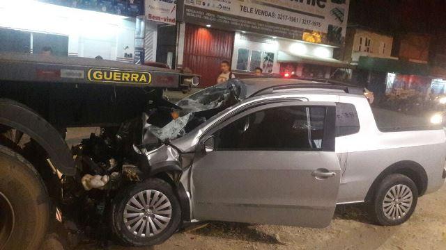 Gari morre após ser atingido por carro desgovernado