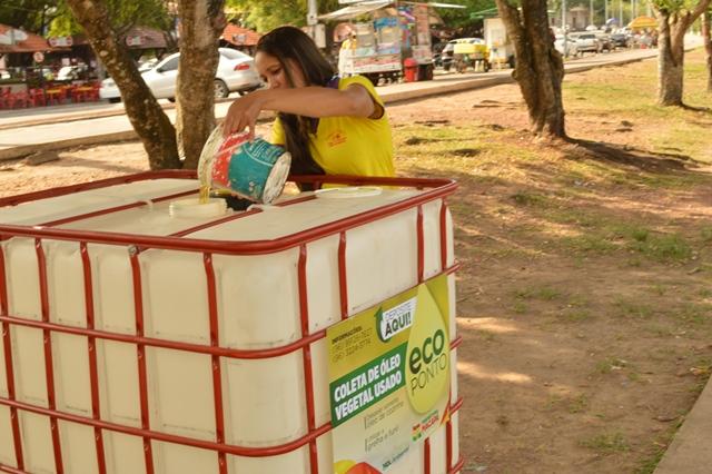 Praças ganham pontos de recolhimento de óleo usado