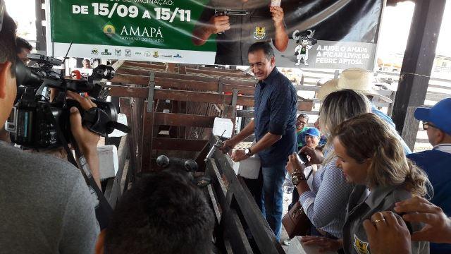 Ninguém segura o Amapá, diz Waldez sobre o estado livre de aftosa