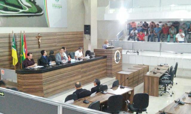 Vereadores do interior farão sessões legislativas na Câmara de Macapá