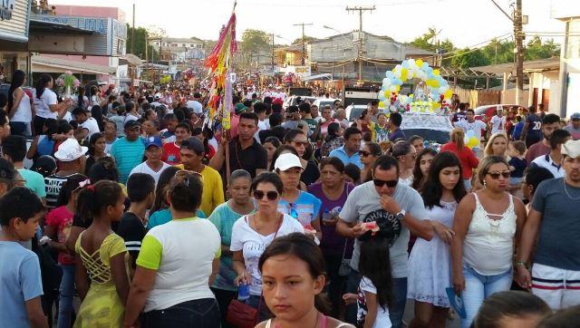 Círio de Nazaré arrasta multidão em Santana