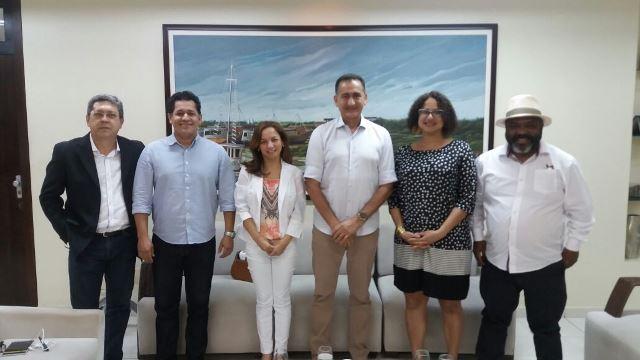 Presidente nacional do PCdoB reafirma aliança com Waldez em visita a Macapá