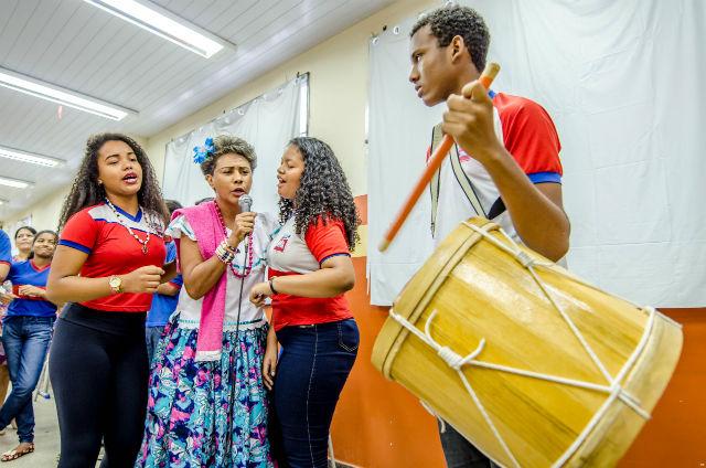 CD de marabaixo será lançado com canções compostas por estudantes