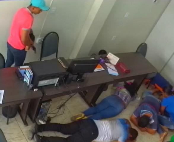 PM prende suspeito de assaltar lotérica
