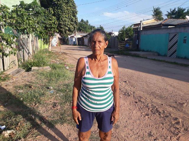 As chuvas vão chegar com os velhos problemas, diz moradora do Beirol