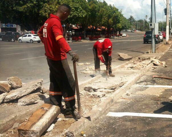 Calçadas, campos e academias começam a ser revitalizados na Beira Rio