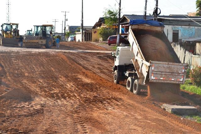 13 de Setembro: obra continua mesmo com chuva, diz Setrap