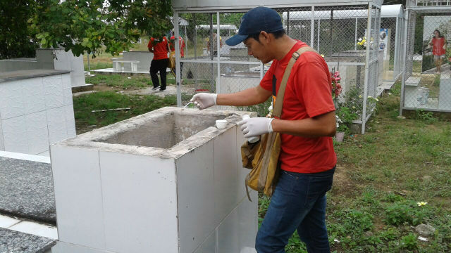 Ação elimina focos do Aedes aegypti nos cemitérios de Macapá