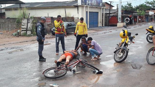 Vítima aguarda 40 minutos por ambulância
