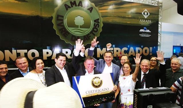 Livre de aftosa: Maggi diz que AP será gigante na produção de alimentos