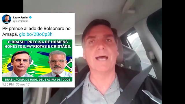 Em VÍDEO, Bolsonaro nega ser aliado de Promotor Moisés