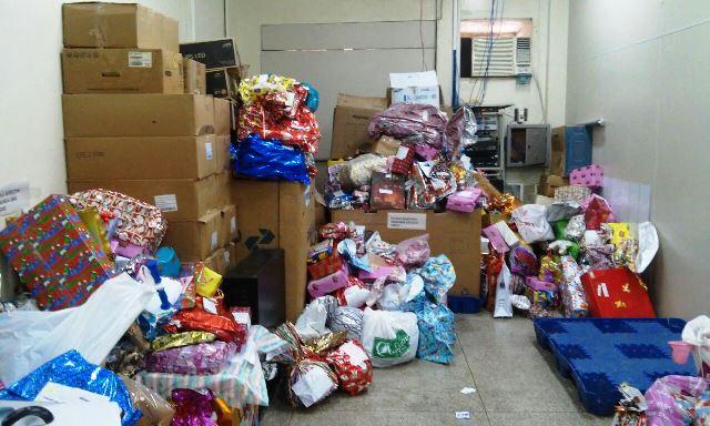 Correios arrecadam mais de 3 mil presentes para crianças