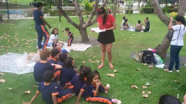 Projeto incentiva a leitura e a caridade entre as pessoas