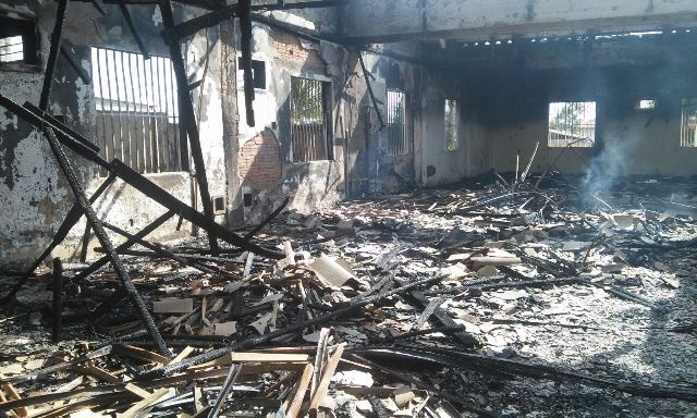 Usuários de drogas podem ter provocado incêndio no Centro