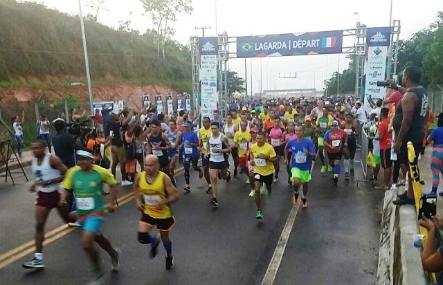 Meia-Maratona reúne 1,5 mil corredores na fronteira