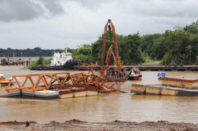 MPF quer mais 4 empresas respondendo por desmoronamento de porto
