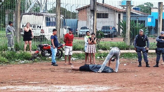 Detento é executado na frente do Iapen