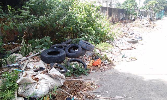 Mais de 400 toneladas de entulhos foram retiradas das ruas em 2017